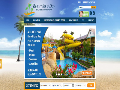 Ecommerce Website Design & development for Cruise Ship Excursions